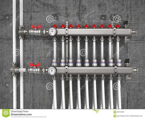 collettore riscaldamento a pavimento collettore collettore sistema di riscaldamento per il
