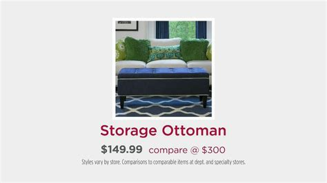 home goods storage ottoman homegoods tv spot storage ottoman ispot tv