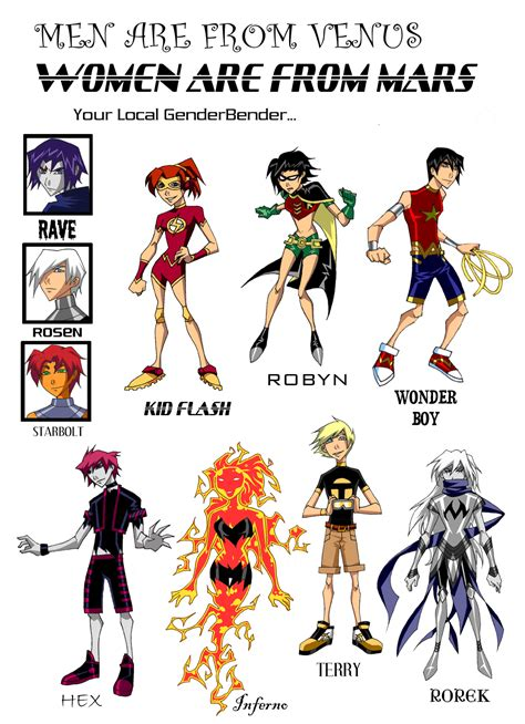 gender bender gender bender justice