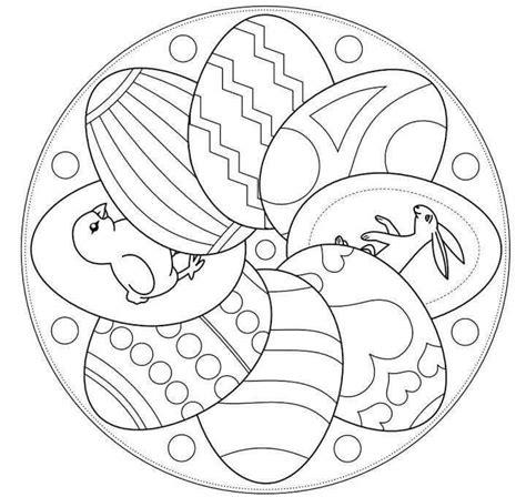mandala coloring pages easter easter egg designs idea for kıds funnycrafts