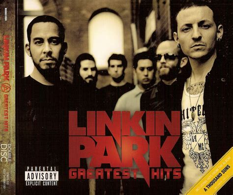 linkin park best of linkin park greatest hits cd at discogs