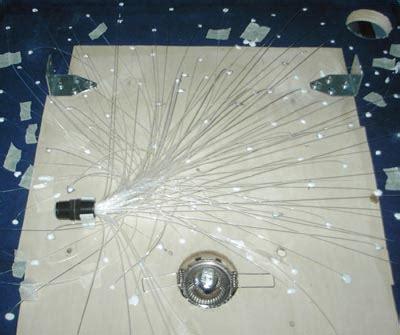 illuminazione a fibra ottica ladario fibra ottica sogno immagine spaziale
