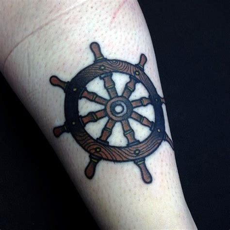 boat steering wheel tattoo ship wheel tattoos designs ideas and meaning tattoos