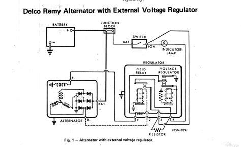 delco remy alternator wiring diagram 4 wire get free