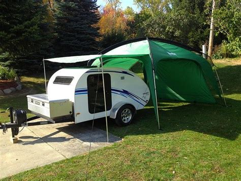 teardrop caravan awning mods for little guy cer google search teardrop