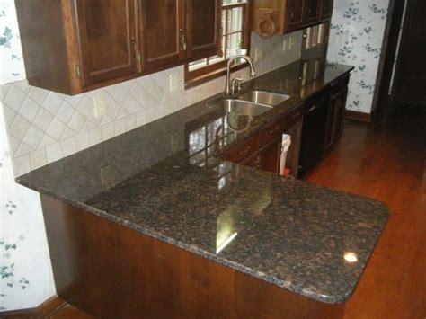 Porcelain Tile For Countertops Design Decoration Brown Granite Countertops With 4 X 4 Rialto Beige Ceramic Tile Http Www