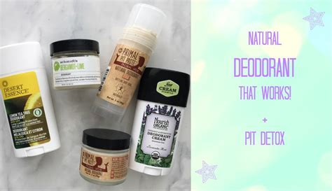 Laurs Detox by Deodorants That Work All About Pit Detox