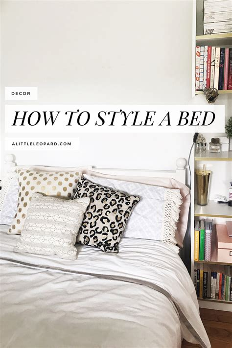 how to style a bed how to style a bed my bedroom refresh part two