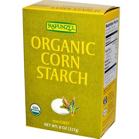 corn starch in hair rapunzel organic corn starch 8 oz 227 g iherb com