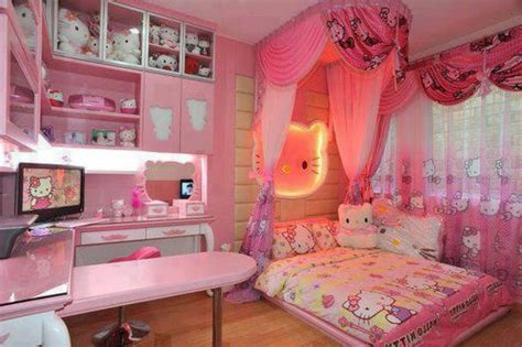 Little Girls Bedroom Decorating Ideas hello kitty bedroom idea for your cute little girl