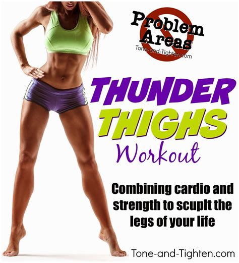 8 Exercises To Tone Your Legs by The Best Workout To Eliminate Thunder Thighs Combining