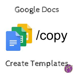 Google Docs Create A Template Teacher Tech Docs Make Template