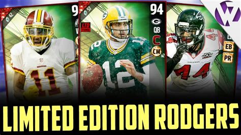 Limited Edition Seventeen 2nd Album Age madden 17 totw 14 ft limited edition aaron rodgers totw djax vic beasley 2nd card in 4 days
