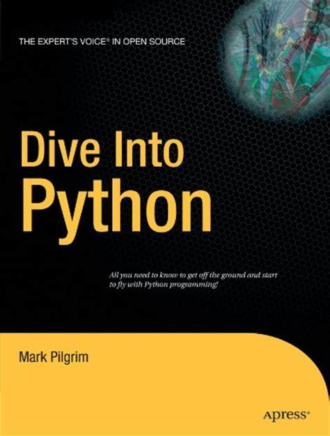 dive into python dive into python by pilgrim link