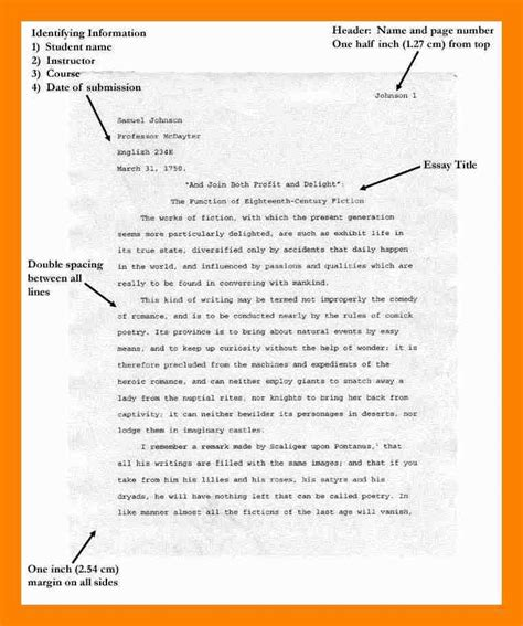 sle essay in apa format how to write a paper in apa format sle 28 images apa