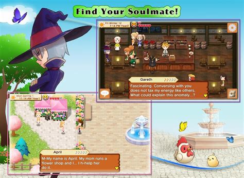 game mod android harvest moon harvest moon seeds of memories android apps on google play