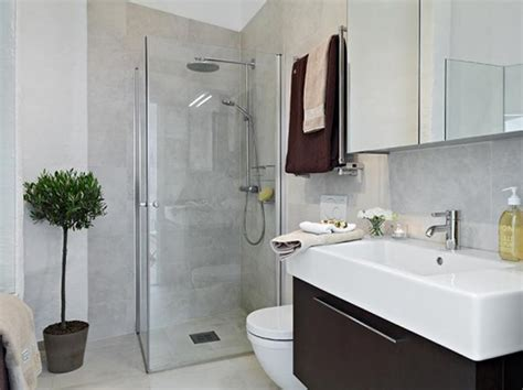 modern bathroom decorating ideas corner