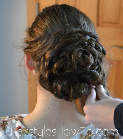 Pin Curls Updo Hairstyles by Pin Curl Bun Updo Tutorial Hairstyles How To