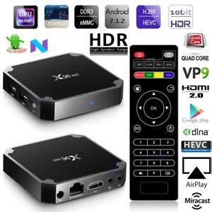 Android 7 1 Nougat Android Tv Box X96 Mini Ram 2g Rom 16g Kodi x96 mini amlogic s905w android 7 1 2 smart tv box 1gb 8gb 4k vp9 hd media player ebay