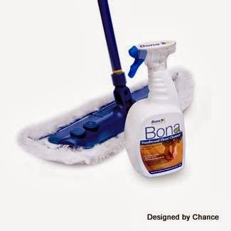 mix floor cleaner with vinegar and designed by chance cleaning products