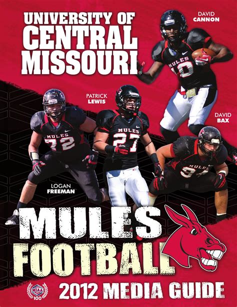 Of Central Missouri Mba Sports by 2012 Central Missouri Football Media Guide By Ucm