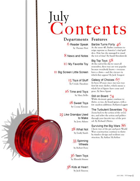 layout design page numbers as media laura wood contents page ideas