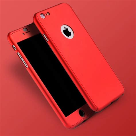 Cover For Iphone hybrid 360 176 shockproof tempered glass cover for apple