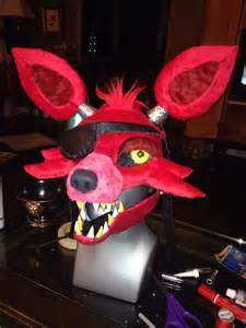 Fnaf foxy mask by lonly chibi dragon watch artisan crafts costumery