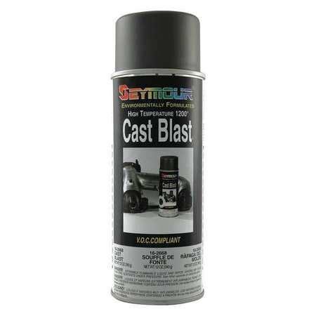 seymour of sycamore paint cast iron gray hi heat 12oz