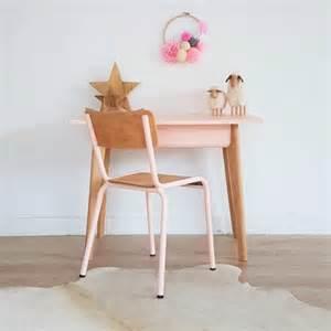 bureau d enfant vintage et chaise d 233 colier coloris