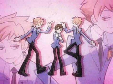 english anime themes ouran highschool host club begininng theme song english