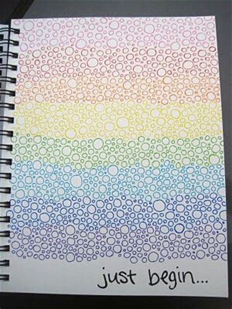 background drawing ideas drawings and dots on