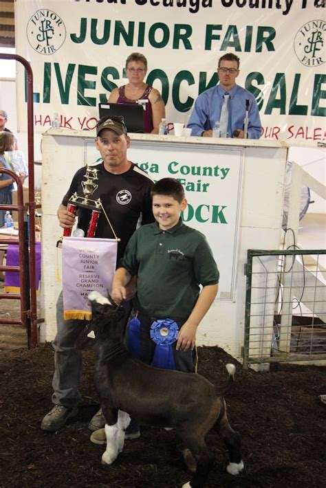geauga county warden geauga county fair youth sell livestock for top dollar