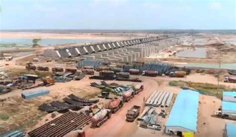 telangana cm inaugurates kaleshwaram irrigation project