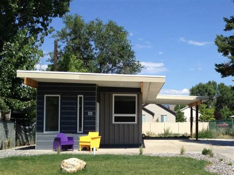 Small Home House An Affordable Green Container Home Small