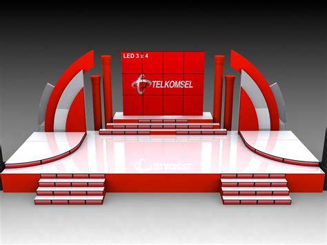 gambar layout panggung contoh design panggung 3d mgmproduction event