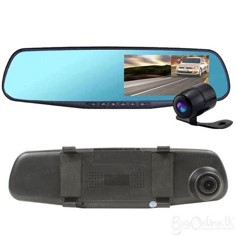 New Car Dvr Car Blackbox 720p Hd Dvr 25inch vehicle blackbox dvr hd dual rearview mirror