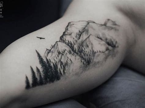mountian tattoo 12 uniquely creative mountain tattoos