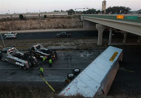 Truck Attorney San Antonio 5 by Loop 1604 Lanes Reopen After Truck With Tortillas