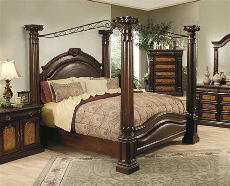 canopy bed hollywood home monte carlo canopy bed by oj commerce