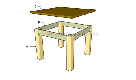 how to build a table howtospecialist how to build
