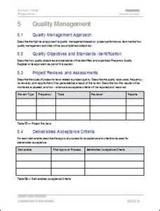Construction Quality Management Plan Template by Quality Management Project Plan Templates Flickr