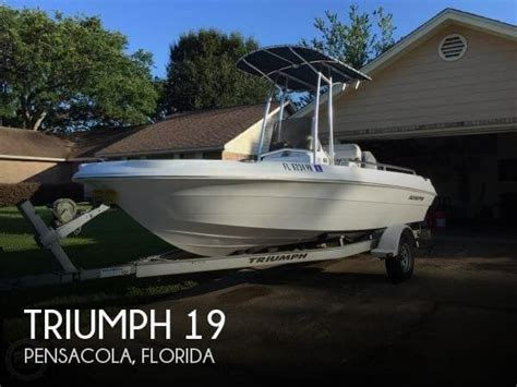 triumph inflatable boats for sale used 2007 triumph 19 in pensacola florida