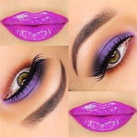 imagenes ojos seductores maquillajes de fiesta ojos y labios paperblog