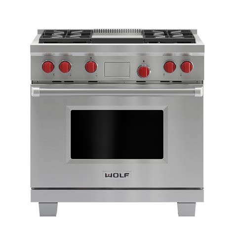 wolf duel fuel range review wolf icbdf364g dual fuel range with griddle teppanyaki review good housekeeping institute