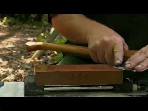 how to sharpen an axe with a bench grinder ray mears how to sharpen an axe at c bushcraft