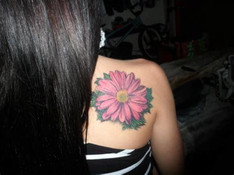 gerber daisy tattoo my gerber tattoos