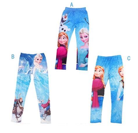 Promo Legging Printing Frozen Fever 2014 new and autumn frozen print length elastic waist cotton