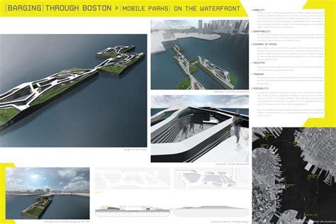 shiftboston building barge 2011 design competition e architect shiftboston ideas competition 2009