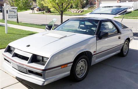 dodge shelby daytona ebay 1986 dodge daytona turbo z cs 80s shelby bestride